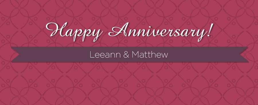 bloganniversaryLeeann&Matthew