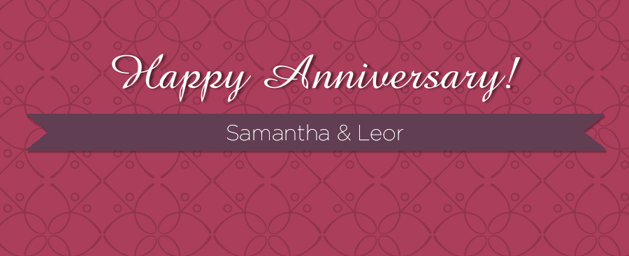 bloganniversarySamantha&Leor