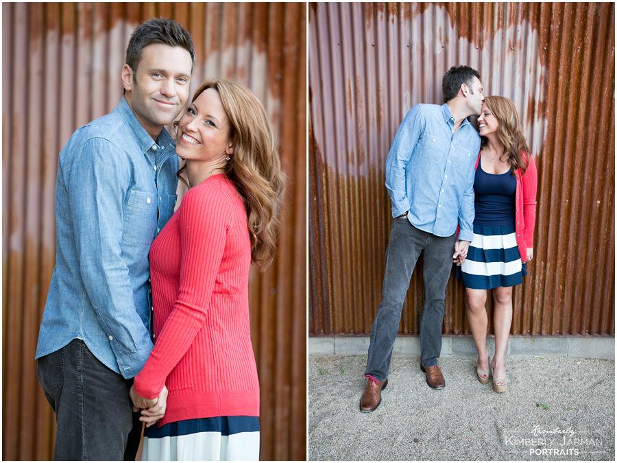 Roosevelt Row Engagement photography Phoenix  Wedding Photographer