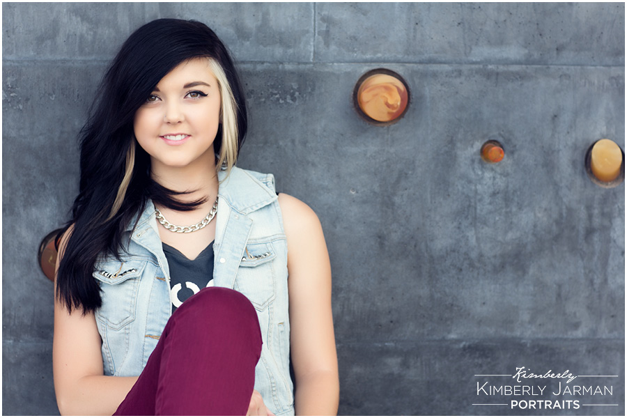 Edgy Senior Portraits Photography Tempe Wedding Photographer
